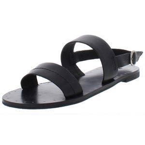 "Frye ""Ally"" 2 Band Sling Leather Sandal"